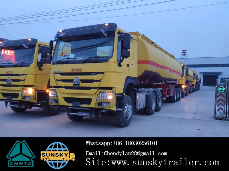 CHINA FUEL TANKER TRAILER FACTORY