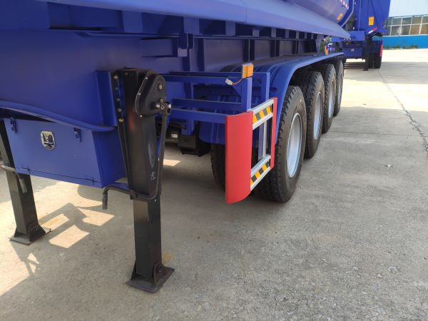 Heavy Duty 70 Tons 4 Axle Tipper Trailer