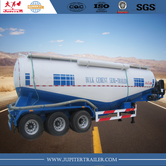 bulk carrier semi-trailer