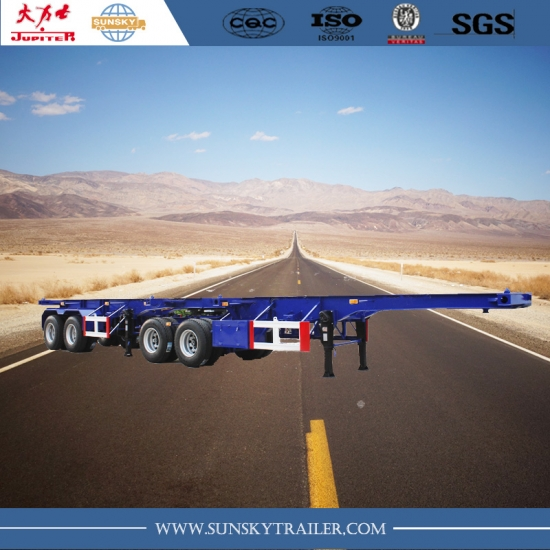 Interlink skeleton trailer for sale