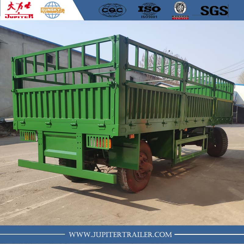 Flatbed  Drawbar trailer For Sale