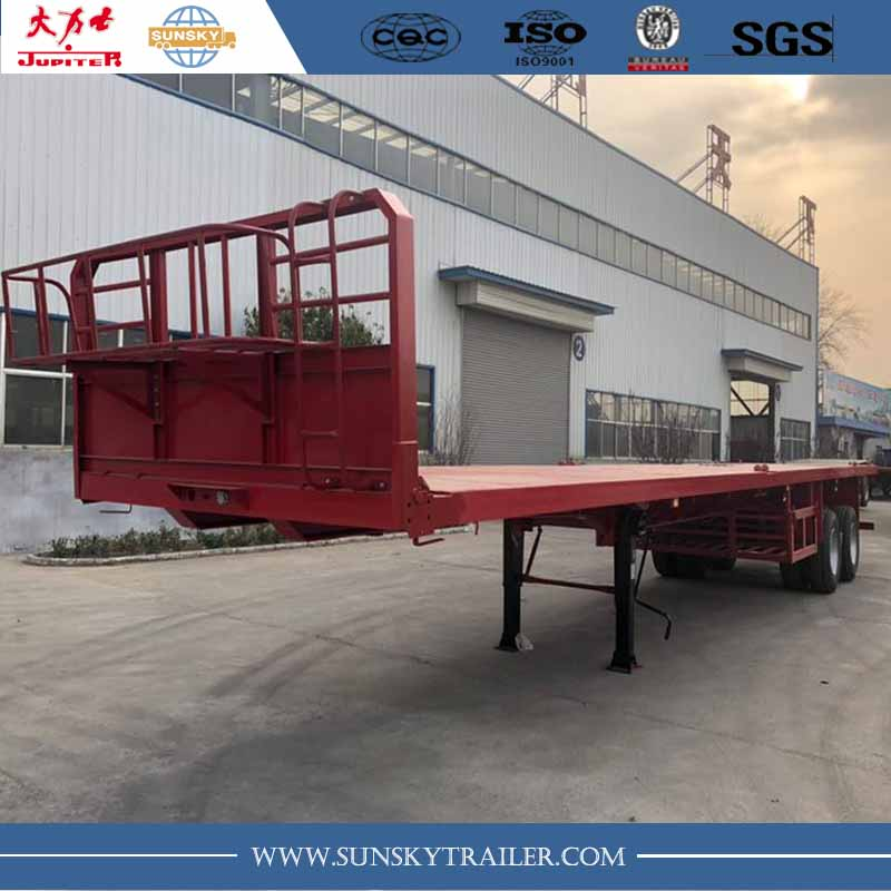 45 FT flat bed trailer