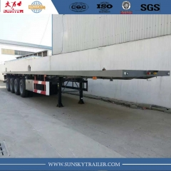 Trailer trục phẳng 4 trục